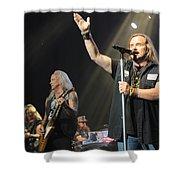 Skynyrd-group-7229 Shower Curtain