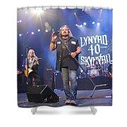 Skynyrd-group-7309 Shower Curtain