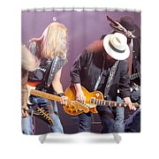 Skynyrd-group-7638 Shower Curtain