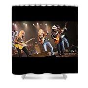 Skynyrd-group-7668 Shower Curtain