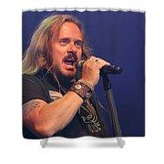 Skynyrd-johnny-8116 Shower Curtain