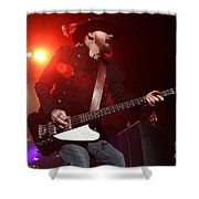 Skynyrd-johnnycult-7902 Shower Curtain