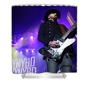 Skynyrd-johnnycult-7915 Shower Curtain