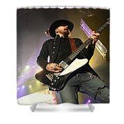 Skynyrd-johnnycult-7950 Shower Curtain