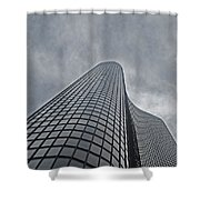 Skyrise Chicago Shower Curtain