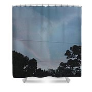 Skyscape - Full Blown Tornado Shower Curtain