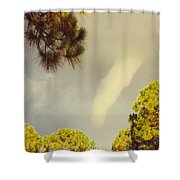 skyscape - Tornado Formed Shower Curtain