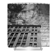Skyscraper 5b Shower Curtain