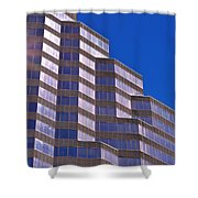 Skyscraper Photography - Downtown - By Sharon Cummings Shower Curtain