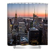 Skyscrapers Shower Curtain