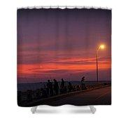 Skyway Fishing Shower Curtain