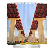 Skyway Highway Shower Curtain