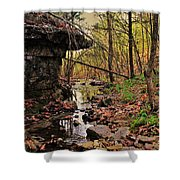 Slate Bottom Creek Shower Curtain