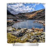 Slate Valley Shower Curtain