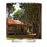 Slave Quarters Shower Curtain by Steve Harrington