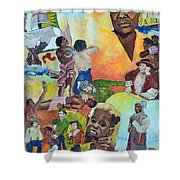 Slave Women Shower Curtain