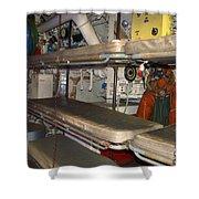 Sleeping Area Russian Submarine Shower Curtain