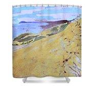 Sleeping Bear Dunes Shower Curtain
