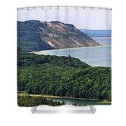 Sleeping Bear Dunes Vista Shower Curtain