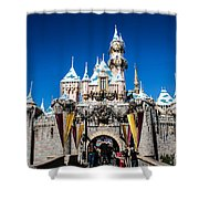 Sleeping Beauty's Castle Shower Curtain