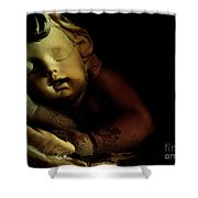 Sleeping Cherub #2 Shower Curtain