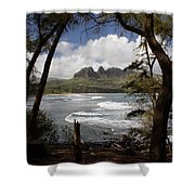 Sleeping Giant Shower Curtain