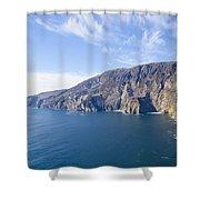 Sleive League On The West Coast Of Ireland Shower Curtain