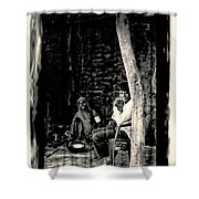 Slice Of Life Mud Oven Chulha Tandoor Indian Village Rajasthani 1e Shower Curtain