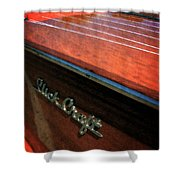 Slick Craft Powerboat Shower Curtain