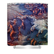 Slickrock Amphitheaters Shower Curtain