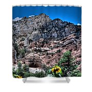 Slide Rock Canyon Shower Curtain