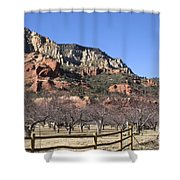 Slide Rock Shower Curtain