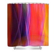 Slightly Sedated Shower Curtain