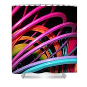 Slinky Craze 2 Shower Curtain