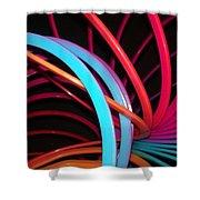 Slinky Craze 3 Shower Curtain