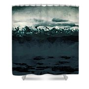 Slippery Surface Shower Curtain