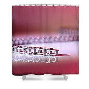 Slithering Chain Shower Curtain