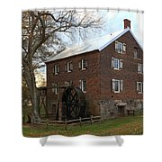 Sloan Park Grist Mill Shower Curtain