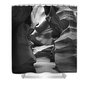 Slot Canyon 2 Shower Curtain