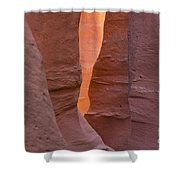 Slot In Palo Duro Canyon 110213.45 Shower Curtain