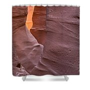 Slot In Palo Duro Canyon 110213.50 Shower Curtain