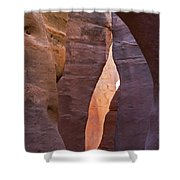 Slot In Palo Duro Canyon 110213.61 Shower Curtain