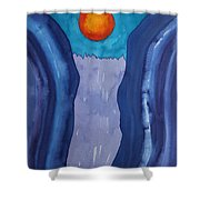 Slot Retablo Original Painting Shower Curtain