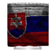 Slovakia Shower Curtain