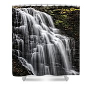 Slow Fall Shower Curtain