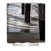 Slow M'ocean Shower Curtain