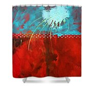 Slow Travel Shower Curtain