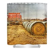 Slumbering In The Countryside Shower Curtain