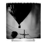 Slums Have A View Shower Curtain