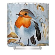 Small Bird Shower Curtain